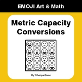 Metric Capacity Conversions - Emoji Art & Math - Draw by N