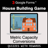 Metric Capacity Conversions | House Building Game | Google Forms