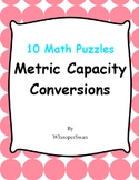 Metric Capacity Conversions - Math Puzzles