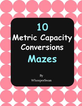Metric Capacity Conversions Maze