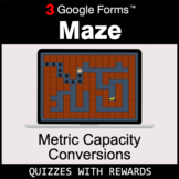 Metric Capacity Conversions | Maze | Google Forms | Digita