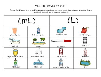 Metric Capacity Sort