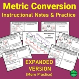 Metric Conversion Chart and Guided Notes (Expanded Version)