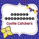 Metric Conversion Cootie Catchers