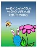 Metric Conversion Easter Egg Hunt - Length
