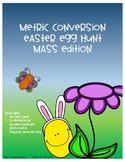 Metric Conversion Easter Egg Hunt - Mass