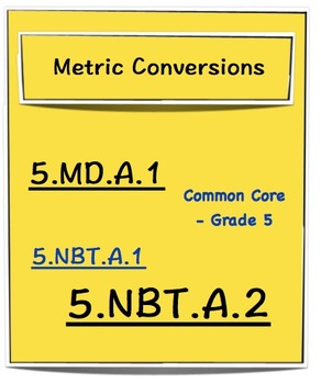 Metric Conversion - Grade 5
