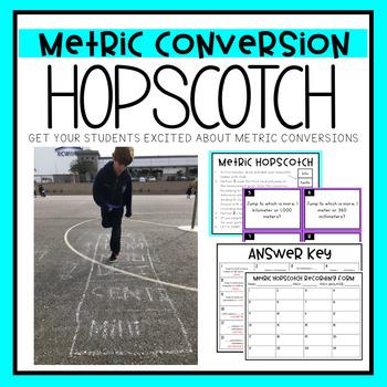 Metric Conversion Hopscotch