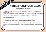 Metric Conversion Matching Game
