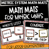Metric Conversion Math Mats for Upper Grades