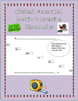 Metric Conversion Project