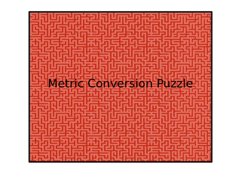 Metric Conversion Puzzle