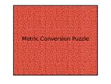 Metric Conversion Puzzle