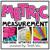 Metric Measurement Task Cards (Converting measurements wit