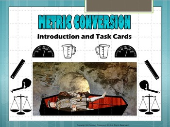 Metric Conversion intro and Task Cards