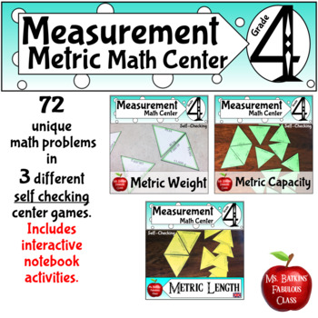 Metric Measurement Conversion Bundle