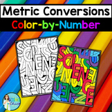 Metric Conversions Color-by-Number