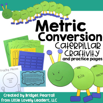 Metric Conversions Craftivity