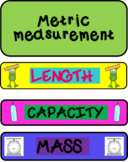 Metric Measurement Conversions Foldable FlipBook