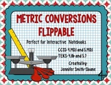 Metric Conversions Flippable to Convert Measurements