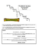 Metric Conversions--King Henry Staircase Mnemonic Device
