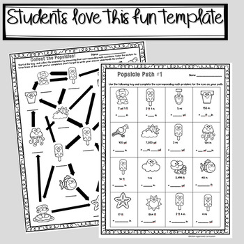 Metric Conversions Worksheets for 5th Grade Math Activities
