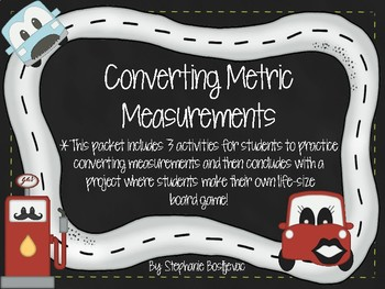 Metric Conversions (Project Based Learning)