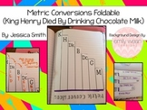 Metric Conversions Reference Foldable Interactive Notebooks