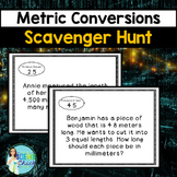 Metric Conversions Scavenger Hunt