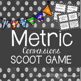 Metric Conversions Scoot (Converting and Comparing Units)