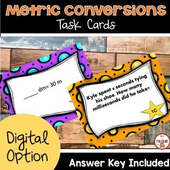 Metric Conversions Task Card