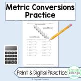 Metric Conversions Worksheet Practice with KEY