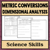 Metric Conversions and Dimensional Analysis Worksheet