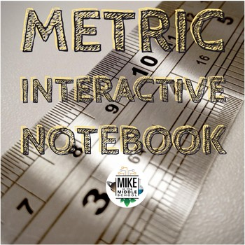 Metric Interactive Notebook with Weblinks