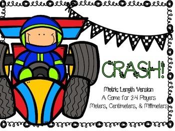 Metric Length CRASH! A Review Game