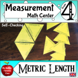 Metric System Conversion Math Center - Length