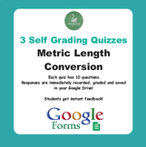 Metric Length Conversion - Quiz with Google Forms