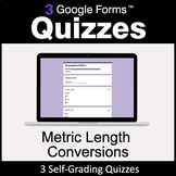 Metric Length Conversions - 3 Google Forms Quizzes | Dista