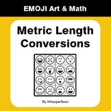 Metric Length Conversions - Emoji Art & Math - Draw by Num