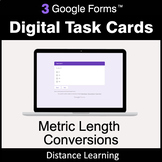 Metric Length Conversions - Google Forms Digital Task Card