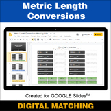 Metric Length Conversions - Google Slides - Distance Learn