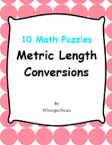 Metric Length Conversions - Math Puzzles