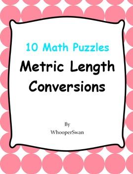 Metric Length Conversions - Math Puzzles