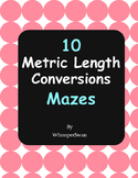 Metric Length Conversions Maze
