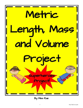 Metric Length, Mass, and Volume Math in Focus aligned Project