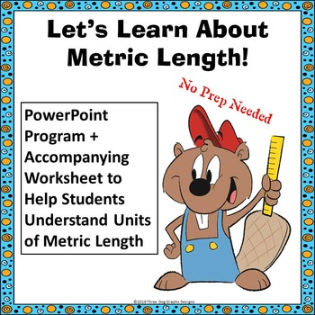 Length Measurement PowerPoint Lesson + Worksheet Common Core