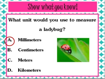 Metric Length PowerPoint (Interactive!!)
