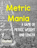 Metric System Measurement Mania