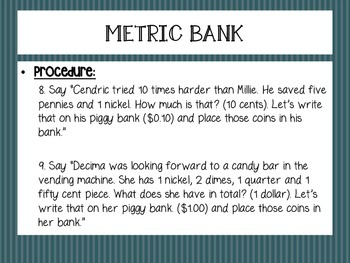 Metric Mania: Interactive Notebook Activities About the Metric System