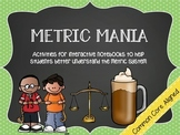 Metric Mania: Interactive Notebook Activities About the Me